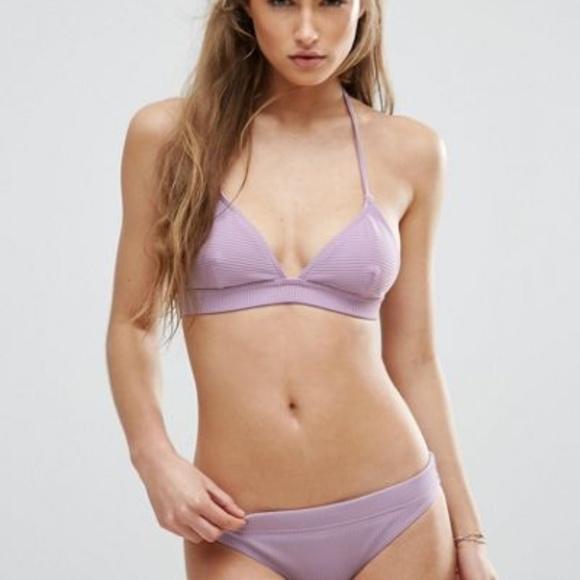 b7639505dc ASOS Other - ASOS Purple Triangle Bikini